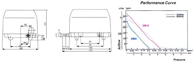 氧气泵内部结构图