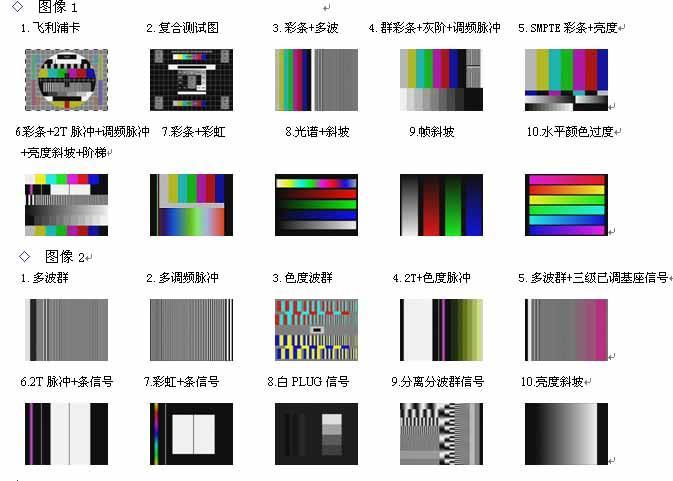 多制式视频信号发生器