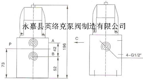 YC24D二位四通電磁閥