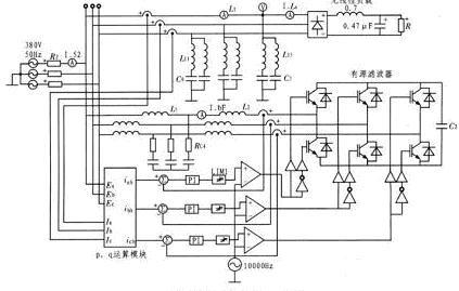 有源滤波器是由一组开关器件和无源储能元件如电感