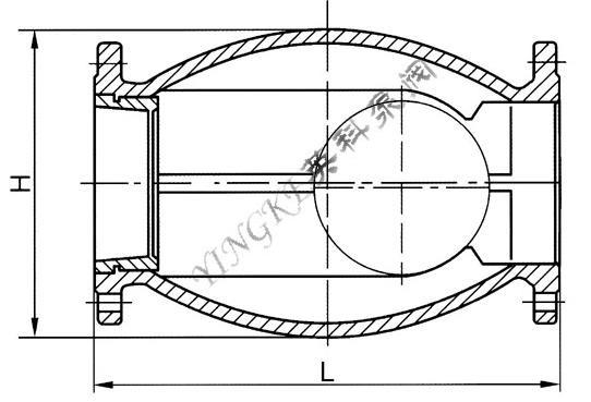 二,hq44x无磨损球形止回阀结构图片:    &图片