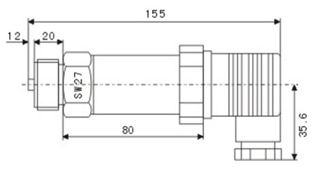 yszc-4小巧型压力变送器
