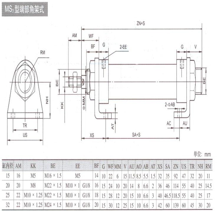 特价气缸QGX16*25 小型气缸QGX系列 产品特点: QGX系列小型气缸一般用于低功率的控制系统中,基型结构的缓冲方式采用机械式固定不可调缓冲,轴用密封件为组合式密封,具有防尘和密封作用,基型产品的前后端盖带有多种安装型式。 技术参数: 工作压力:0.15-0.8MPa 环境温度:5-60 活塞运动速度:50-500mm/s 工作介质:干燥洁净含油雾的压缩空气