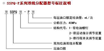 SSPQ-P双线分配器
