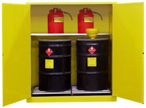V1110 - Flammable Drum Cabinet