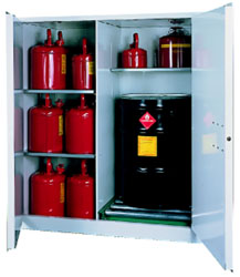 V1500 - Flammable Drum Cabinet