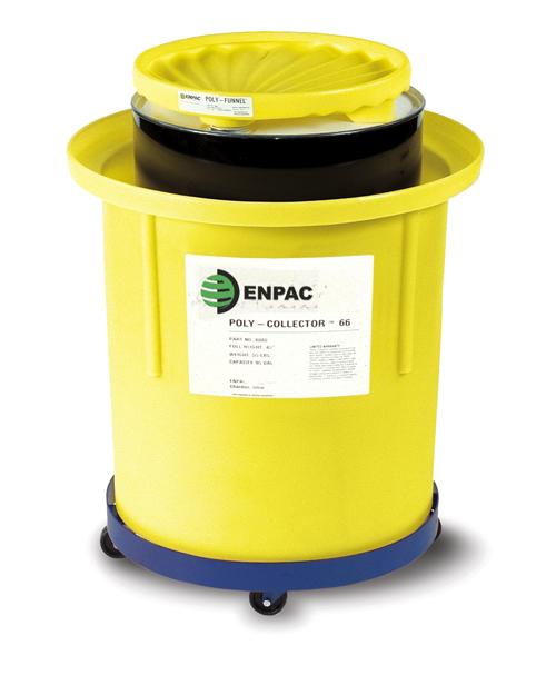 移动式油品收集桶