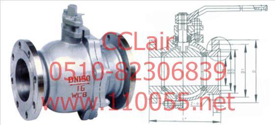 Q41F-16C  Q41F-25C   Q41F-40C     铸钢球阀