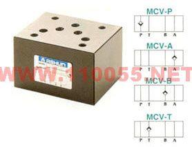 MCV-06P    MCV-06A    MCV-06B    MCV-06T  积层型逆止阀