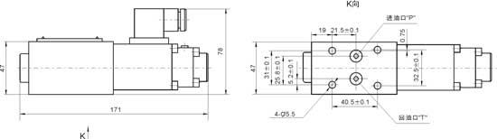 GDBYZ-02-16  GDBYZ-02-25   GDBYZ-02-31.5    隔爆比例直动式溢流阀