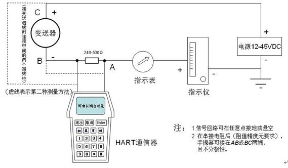七,cr-zk型压力变送器现场导线接线图