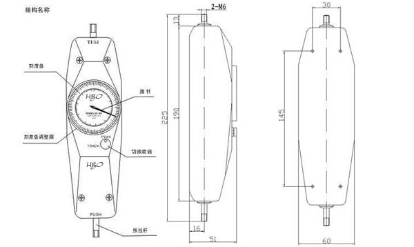 NK-10指针式推拉力计