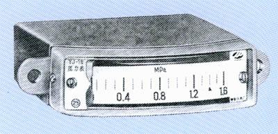 YJ-2矩形压力表