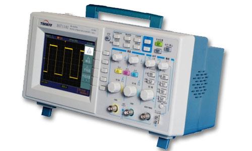 100mhz带宽彩色显示屏示波器,dst1102