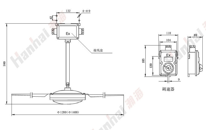 吊扇电容接线图,家用吊扇接线图,吊扇电容接线图