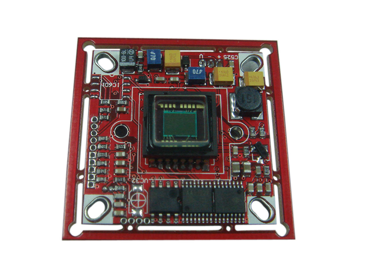 亚博视监控摄像机ccd板机abs-2201