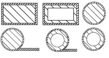金属编织丝网衬垫