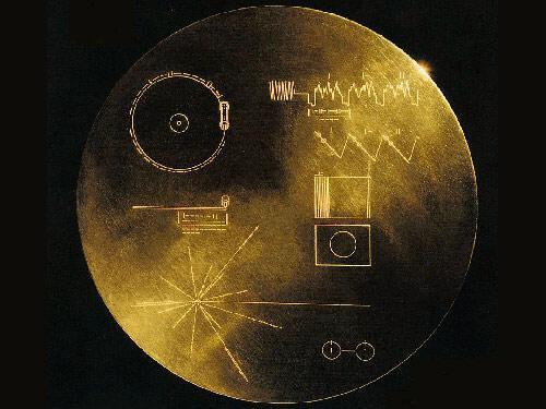 揭秘人类寄给外星人的地球名片(组图)