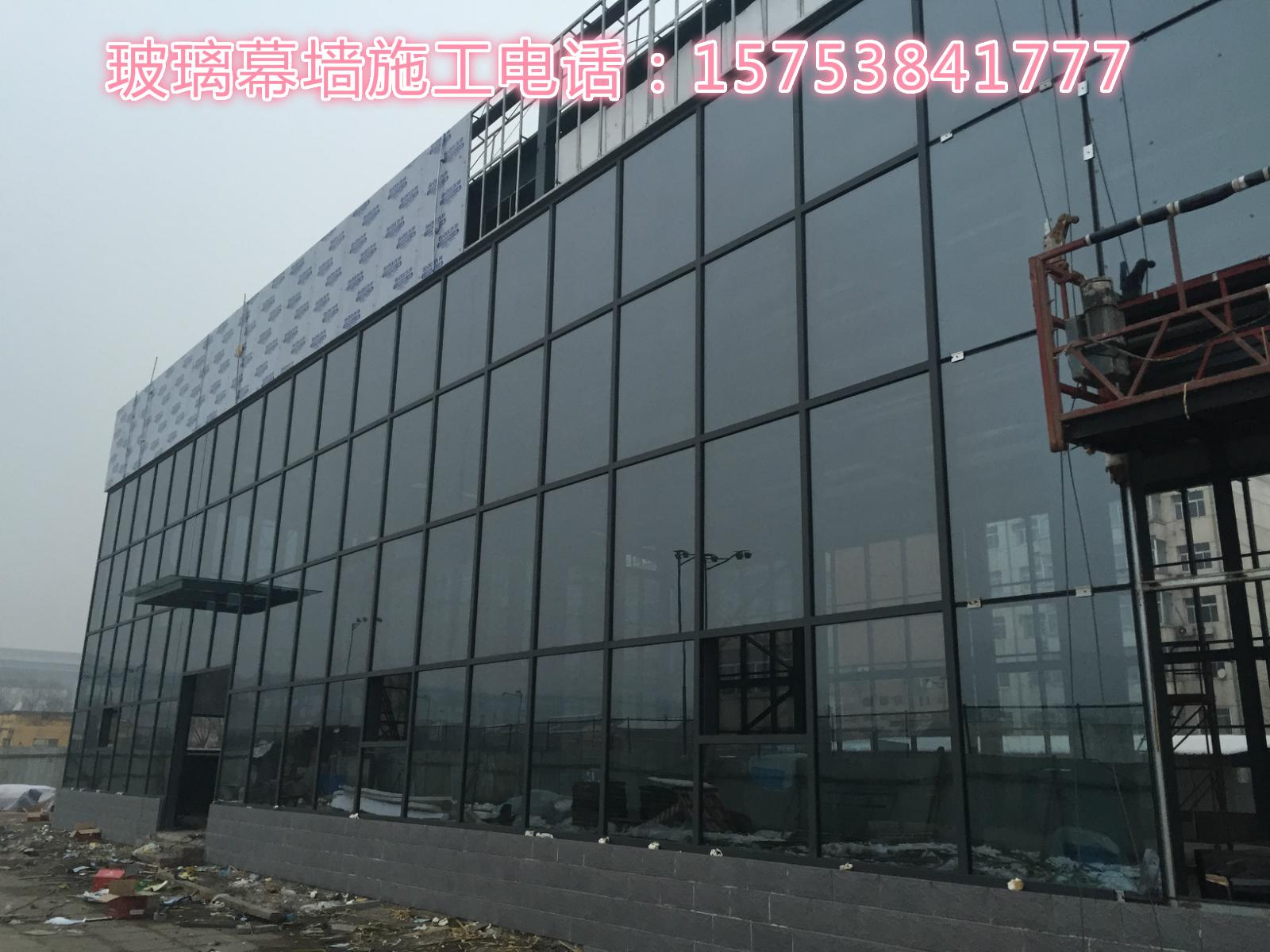 构件式明框玻璃幕墙 ●保温性能——采用断热结构并配置具有隔气功能