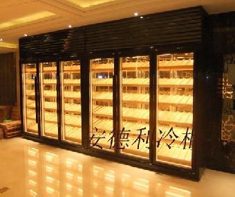 广州立式实木酒柜 恒温恒湿红酒柜 私家红酒展示柜