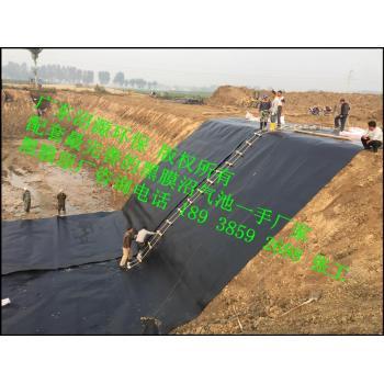 养猪场沼气池污水处理系统自动排渣出水养鱼灌溉