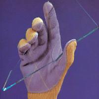 手掌縫皮防割手套