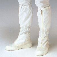 防靜電長筒硬底鞋