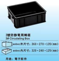 防靜電周轉箱  3號箱