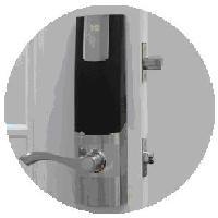 指纹门锁C011501