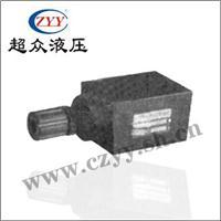 叠加式单向节流阀 MTCV-02P系列