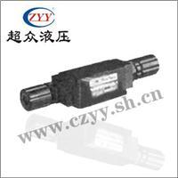 叠加式单向节流阀 MTCV-02、03、04、06※系列