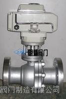 上海明精供應Q941F-64型電動不銹鋼球閥 專業生產不銹鋼球閥