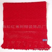 手钩羊绒围巾
