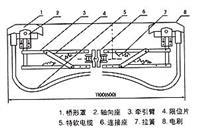 单极滑触线集电器配件01