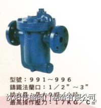 美式倒吊桶式蒸汽疏水閥 98