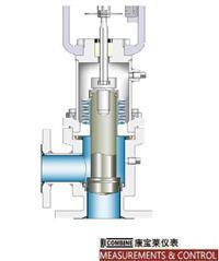 T-8710钽材波纹管密封角型特殊设计控制阀 T-8710