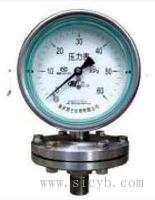 重慶川儀不銹鋼膜片壓力表 YP-100HF,YP-150H,YP-150HF,YP-100H+316L,YP-150H+316