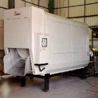 全密闭旋转式垃圾压缩收贮设备LX-4/6/8/10/12/18/22(4~22立方米处理量)