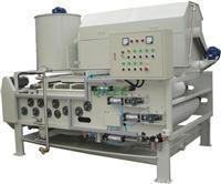 鋼鐵廠化工廢水帶式污泥脫水機 QTBH-1250