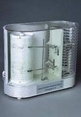 毛髪式温湿度記録計(クォーツ) S-202