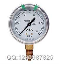 供应日本ASK油压表 OPG-AT-G1/4-60x4MPa