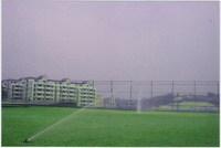 足球场全自动喷灌工程