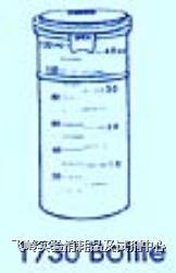 CORNING 扣压式塑料检体罐 PYREXR   CORNING 扣压式塑料检体罐