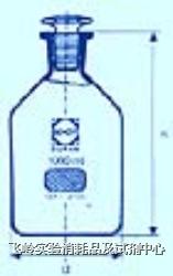 磨砂細口瓶 SCHOTT