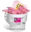 化学品 吸收棉 组合套装 泄漏处理桶