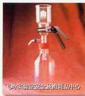 玻璃過濾器 47mm 玻璃濾片 附GL45螺?真空抽氣瓶 KONTES
