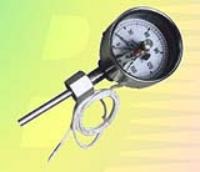 电接点双金属温度计,电接点温度计,电接点温度表,电接点双金属温度表,WSSX系列温度计,电接点轴向型双金属温度计,电接点径向型双金属温度计,工业自动化仪表 WSSX—411