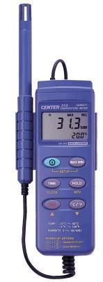 CENTER313数字式温湿度计|台湾群特CENTER-313记忆式温湿度计 CENTER313
