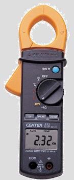 CENTER232交直流电流钳|台湾CENTER群特232数显交直流电流钳表 CENTER232