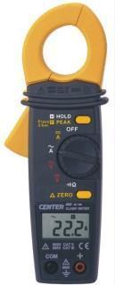 CENTER222钳表|台湾群特CENTER-222交直流钳形电流表|数字式交直流电流钳表 CENTER222